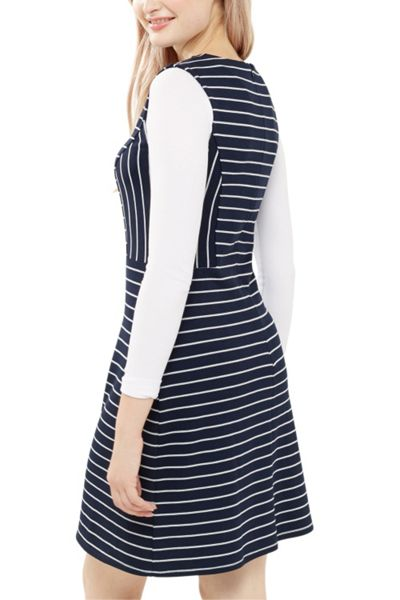 Oasis Stripe Shift Dress