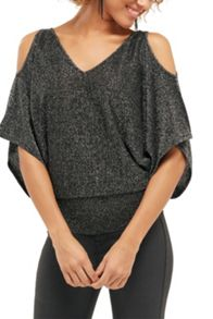 Oasis Sparkle Cold Shoulder Kaftan