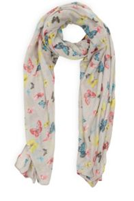 Oasis Re-Colour Butterfly Scarf