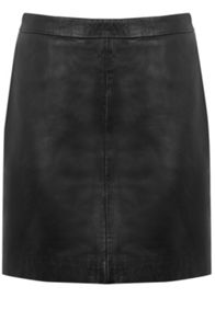 Oasis Faux Leather Mini Skirt