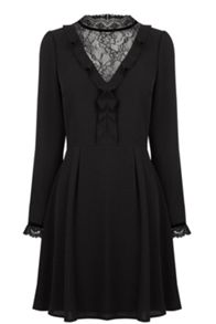 Oasis Lace Insert Dress