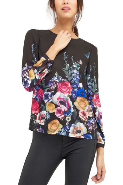 Oasis Flora And Fauna L/S Top
