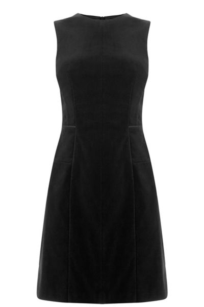 Oasis Velvet Shift Dress