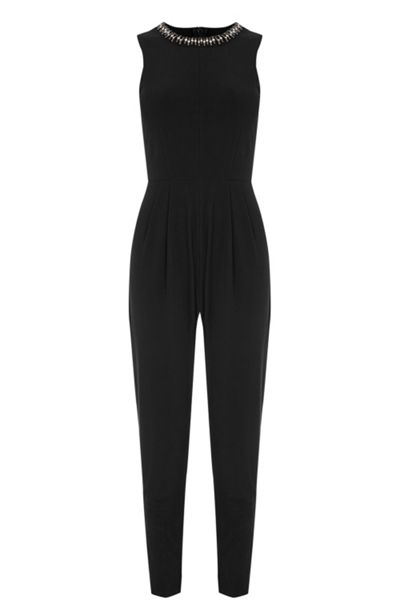 Oasis Embellished Trim Jumpsuit