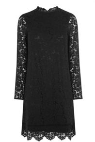 Oasis Puritan Scallop Lace Dress