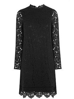 Puritan Scallop Lace Dress