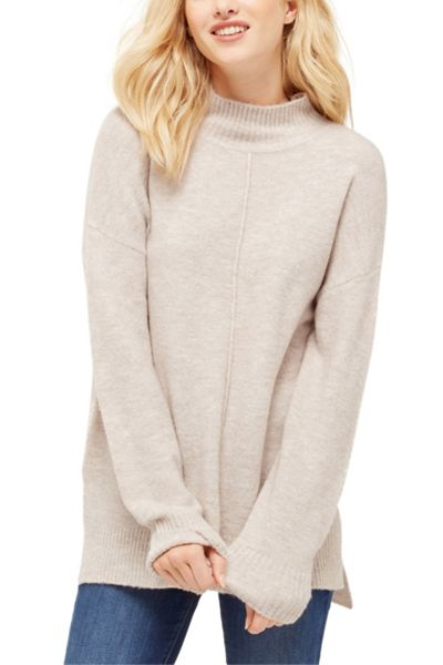 Oasis Funnel Neck Ll Knit