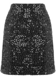 Oasis Sequin Tinsel Skirt