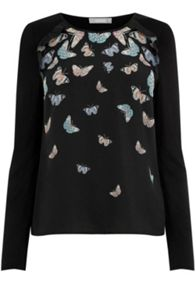 Oasis Princes Butterfly Blouse