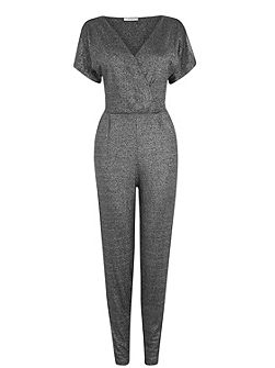 Lurex Wrap Jumpsuit