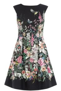 Oasis Perry Print Dress