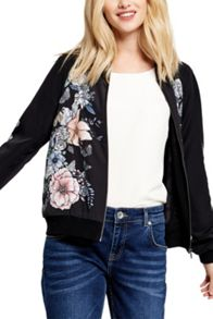 Oasis Bird Forest Bomber Jacket