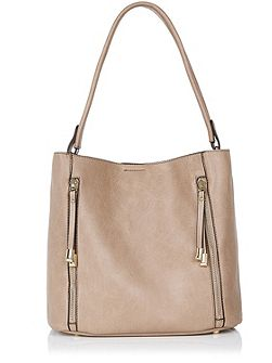 Hettie 2 Zip Hobo Bag