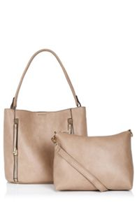 Oasis Hettie 2 Zip Hobo Bag