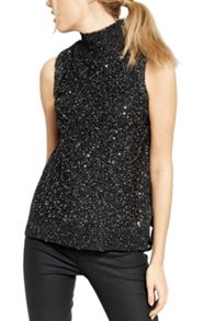 Oasis Sequin Yarn Tank
