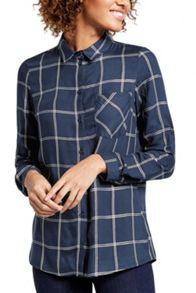 Oasis Lurex Check Shirt