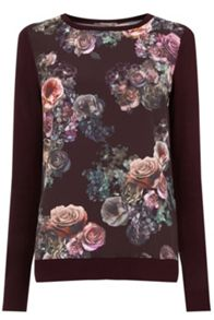Oasis Gothic Bloom Woven Front
