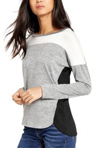 Oasis Yoke Patched Colourblock Sweat