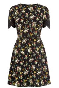 Oasis Spring Bouquet Skater Dress