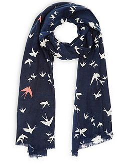 Swallow Bird Scarf