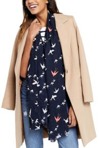 Oasis Swallow Bird Scarf