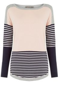 Oasis Colourblock Jumper