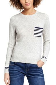 Oasis Stripe Pocket Jumper