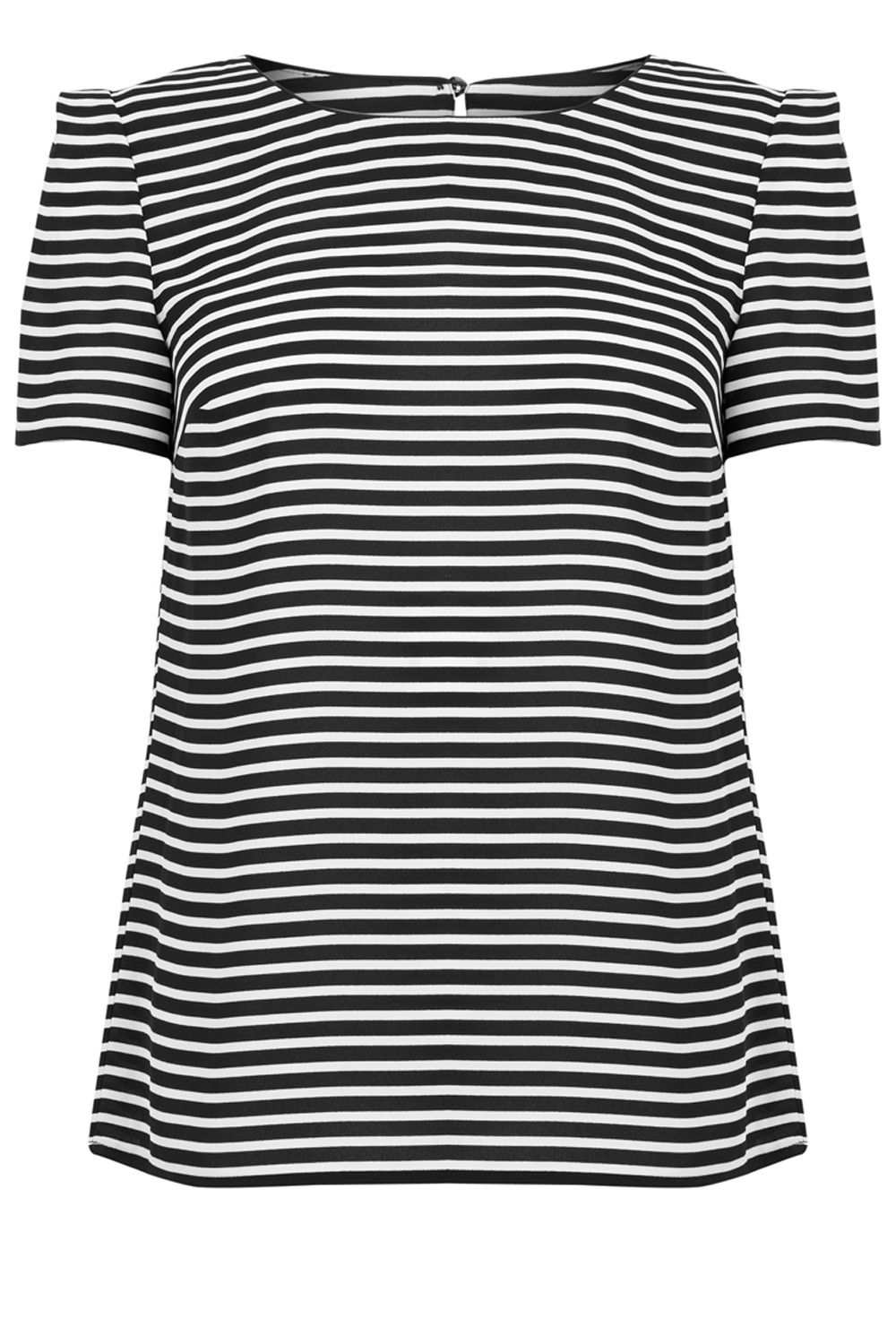 Oasis Stripe Formal Tee, Multi-Coloured