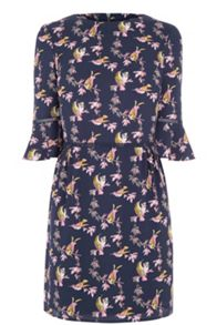 Oasis Lotus Bird Skater Dress