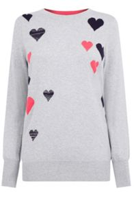 Oasis Heart Cosy Knit
