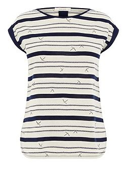 Bird Wiggle Stripe Tee