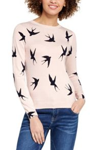 Oasis Shadow Bird Knit