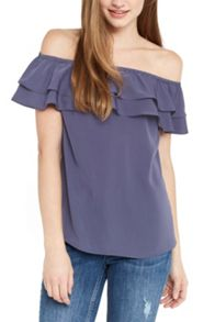 Oasis Soft Bardot Top