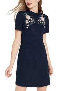 Oasis Oriental Embroidered Dress