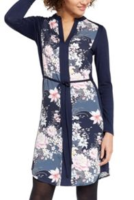 Oasis Lotus Shirt Dress