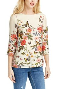 Oasis Amelia Placement Top