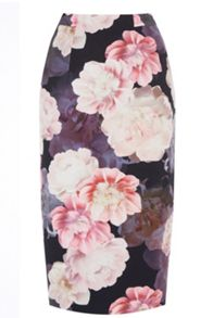 Oasis Springbloom Pencil Skirt