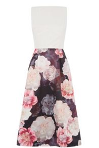 Oasis Springbloom 2 In 1 Midi Dress