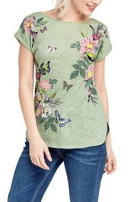 Oasis Lucy All Over Placement Tee