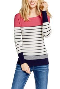 Oasis Stripe Colour Block Top