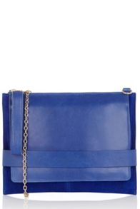 Oasis Leather Cross-Body Clutch