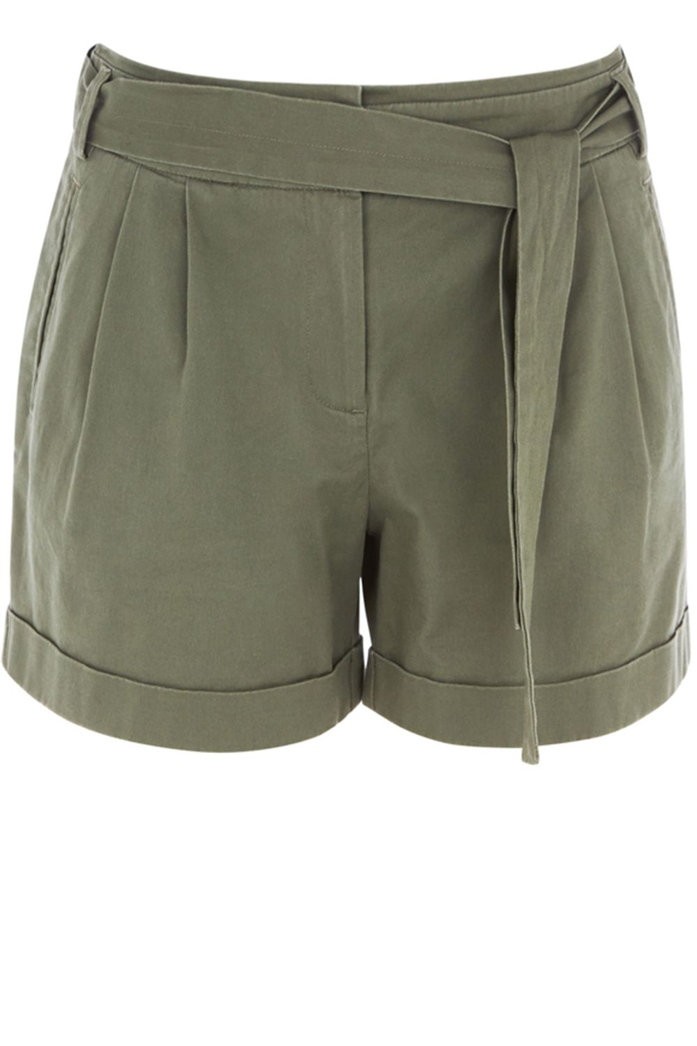 Oasis Casual Shorts Khaki
