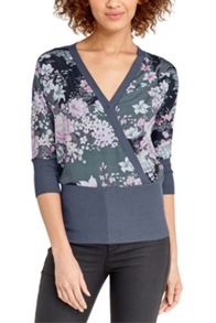 Oasis Lotus Wrap Top