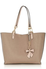 Oasis Reversible Bow Shopper Bag