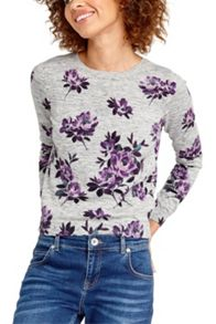 Oasis Wild At Heart Rose Print Knit
