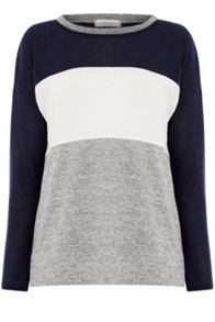 Oasis Colourblock Sweatshirt