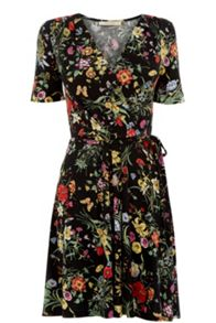 Oasis Spring Bouquet Wrap Dress