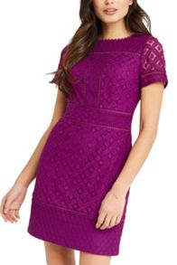 Oasis Isla Lace Shift Dress