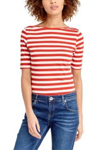 Oasis Cotton Stripe Tee