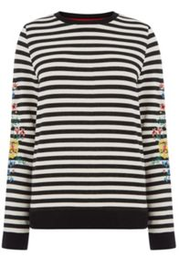 Oasis Stripe Sweat